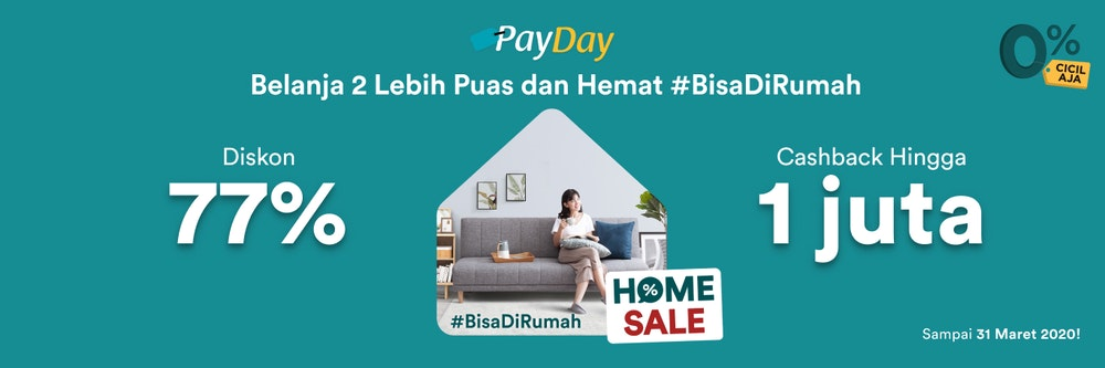 Spesial Payday Sale Maret!