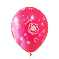 Adalima Balloon Balon Latex HB AR Metallic Red QQ