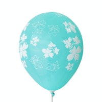 Adalima Balloon Balon Latex Flowers Azure QQ