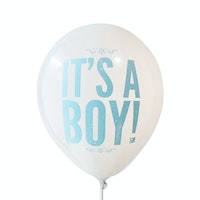 Adalima Balloon Balon Latex Its a Boy 2 White QQ