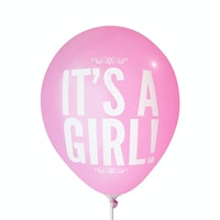 Adalima Balloon Balon Latex Its a Girl 2 Hot Pink QQ