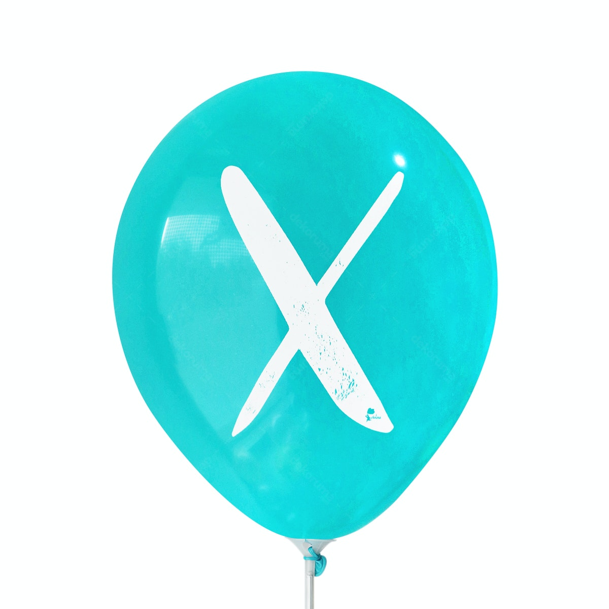 Adalima Balloon Balon Latex Alphabet Tosca Qq
