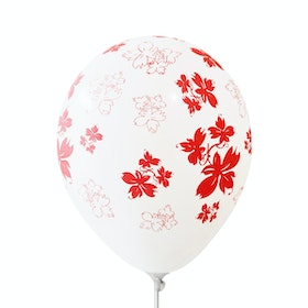 Adalima Balloon Balon Latex Flowers Red QQ