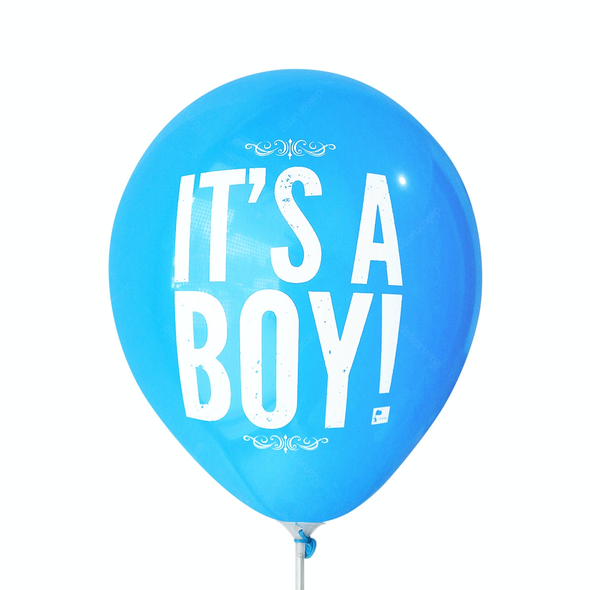 Adalima Balloon Balon Latex Its a Boy 2 Dark Blue QQ