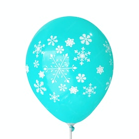 Adalima Balloon Balon Latex Snow Flakes Tosca QQ