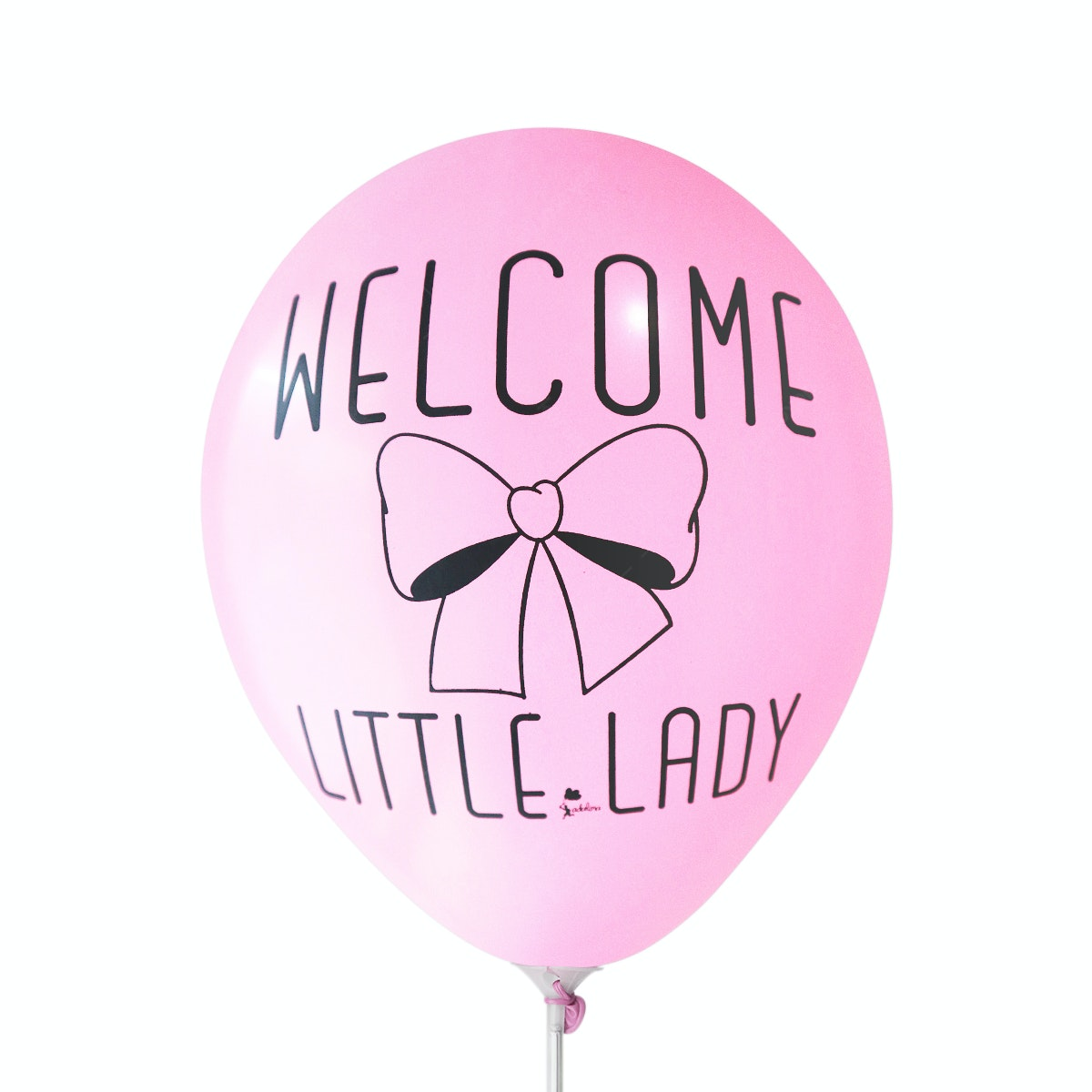 Adalima Balloon Balon Latex Welcome Little Lady Hot Pink QQ