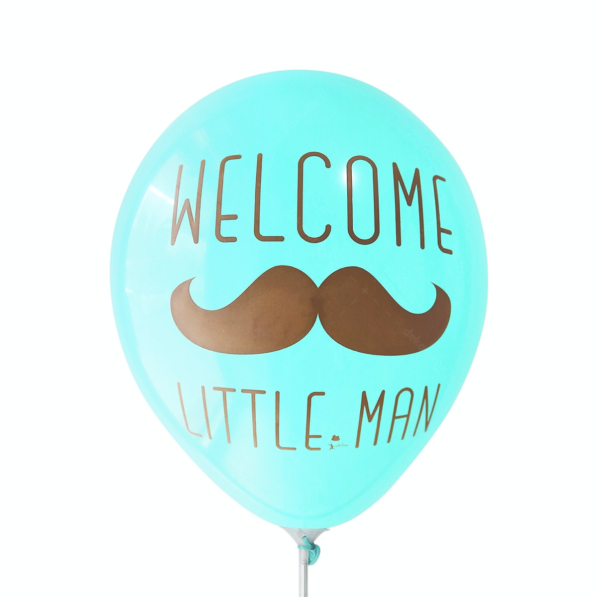Adalima Balloon Balon Latex Welcome Little Man Azure QQ