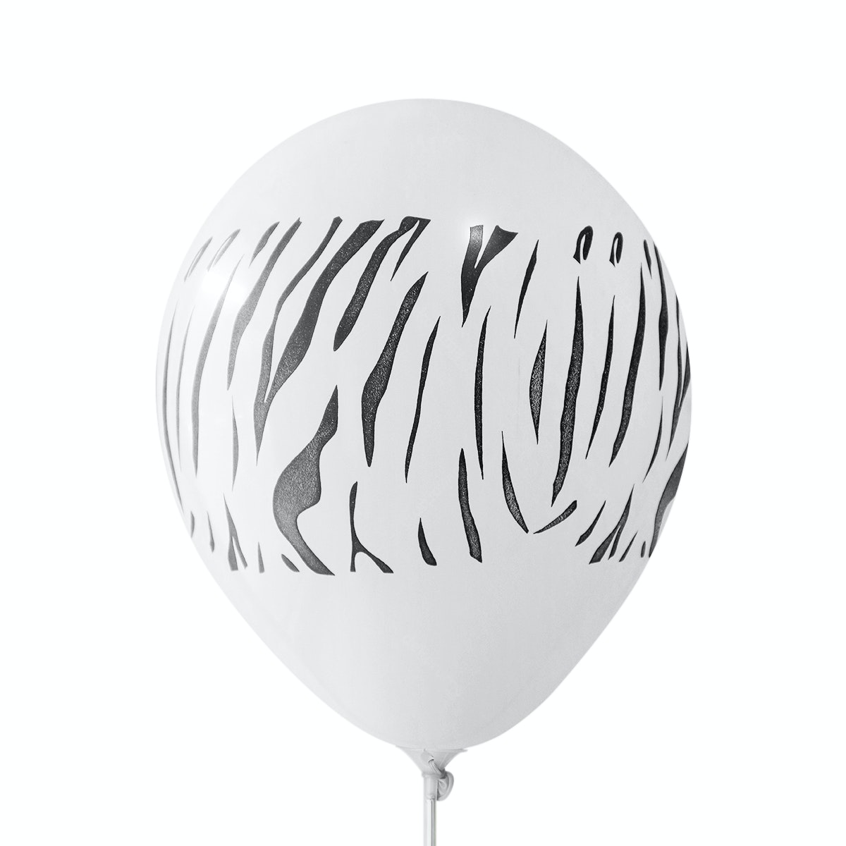Adalima Balloon Balon Latex Zebra White QQ