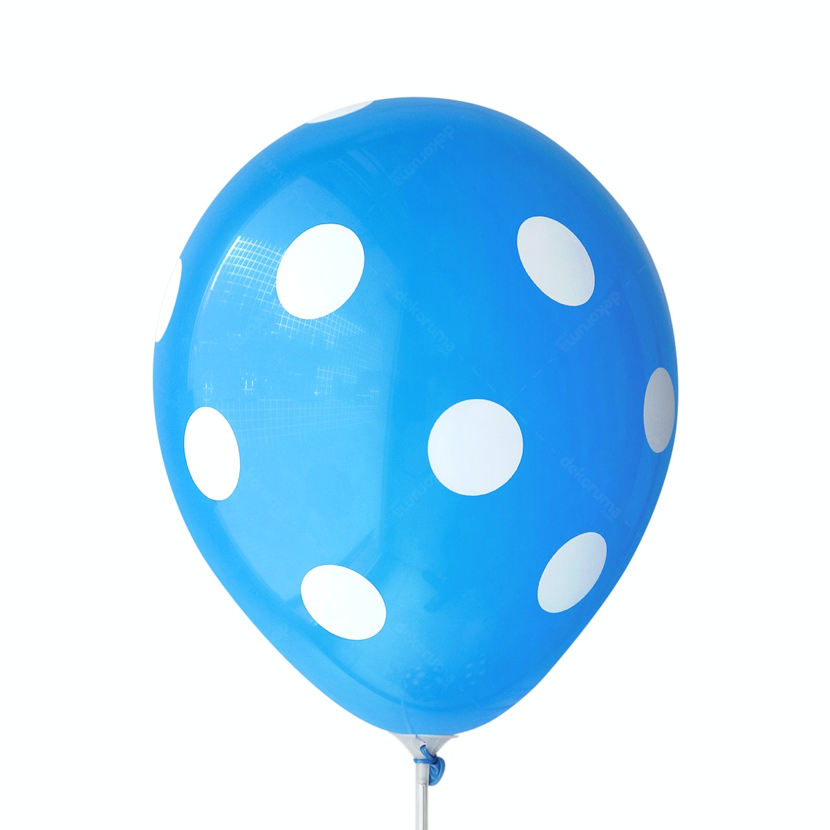 Adalima Balloon Balloon Polkadot Royal Blue QQ