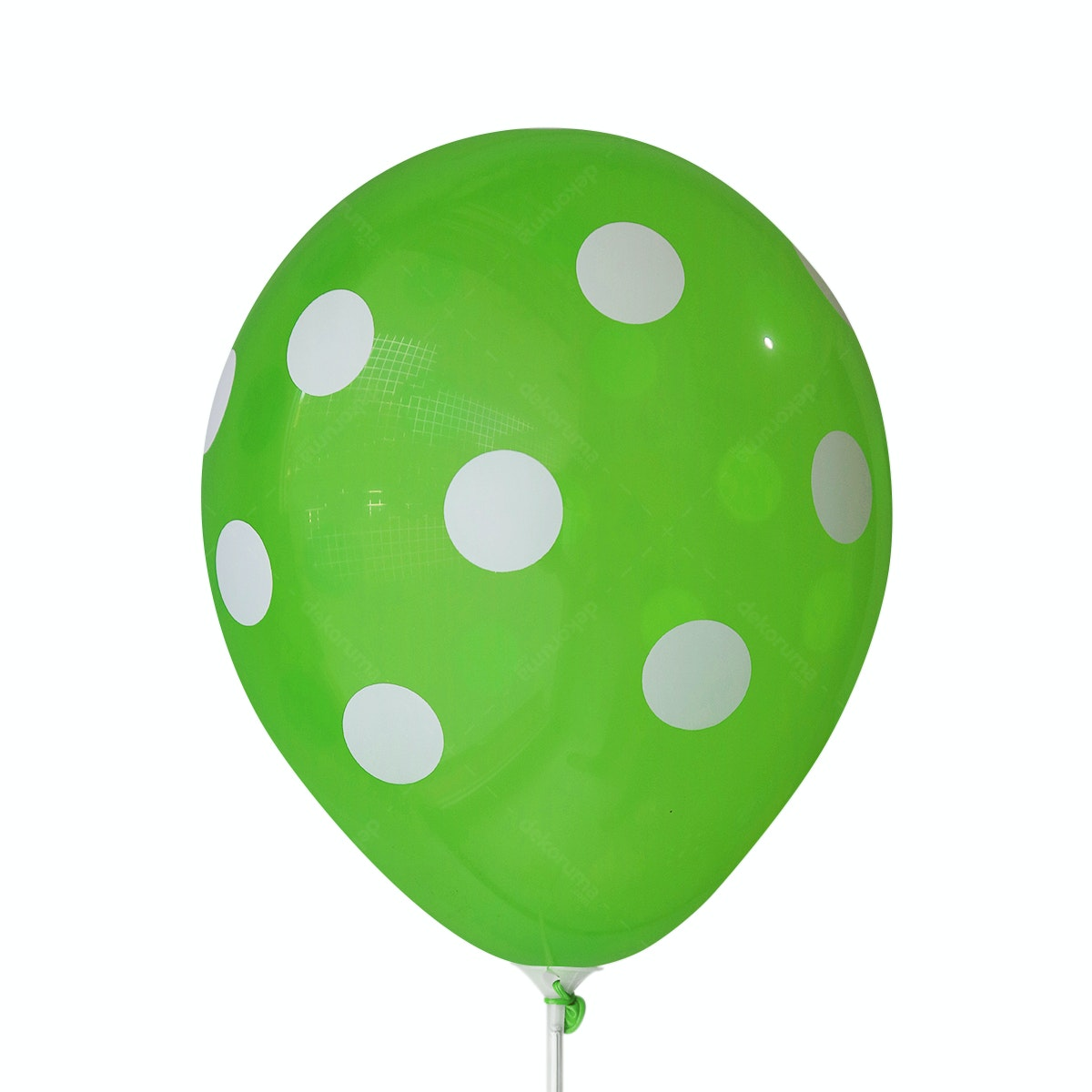 Adalima Balloon Balloon Polkadot Light Green B QQ