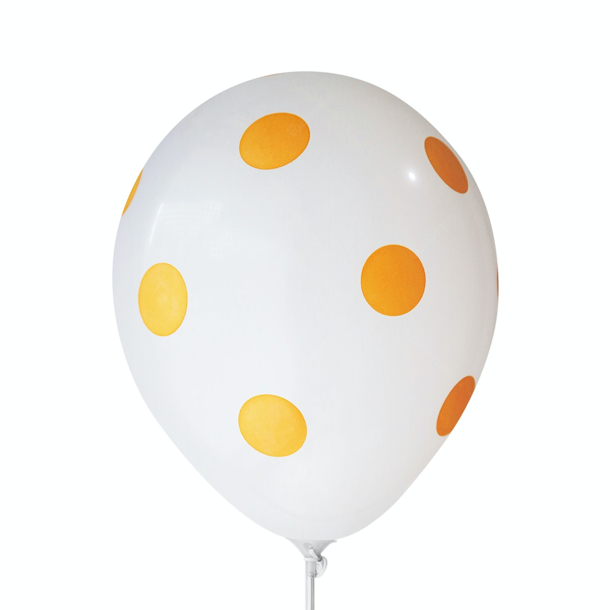 Adalima Balloon Balloon Polkadot White Golden Yellow QQ