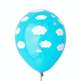 Adalima Balloon Balloon Clouds Dark Blue QQ