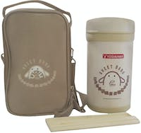 Yoshikawa Lunch Box 1 liter - DO100 Krem