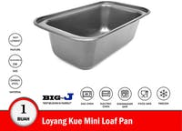 Big J Loyang Kue Mini Loaf Pan 18.5x10x5.5 cm