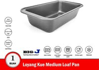 Big J Loyang Kue Medium Loaf Pan 25.5x13.5x5.8 cm