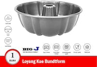 Big J Loyang Kue Bundtform 25.5x25.5x9 cm