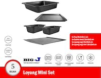 Big J Loyang Mini (Bakeware Mini) Set isi 5 buah