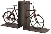 California Home Renee Bicycle Bookends