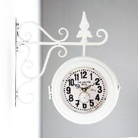 California Home Lucy Double Sides Wall Clock