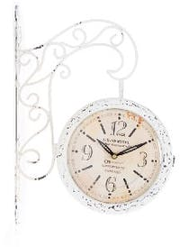 California Home Lindsey Double Sides Wall Clock