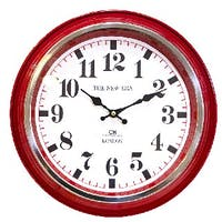 California Home Arcola Wall Clock