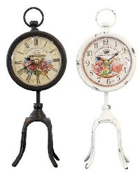 California Home Towanda Table Clock Set Of 2