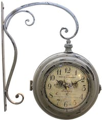 California Home Lane Double Sides Wall Clock