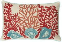 California Home Tyden Shells And Coral Pillow