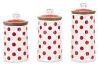 California Home Ty Berry Canister