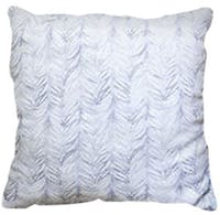 California Home Blue Feather Pillow