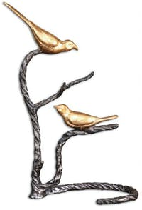 California Home Birds on a Limb Sculpture