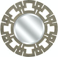 California Home CKI Gustav Round Wall Mirror