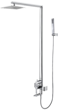 AER Mixer Bathtub Shower Set Panas-Dingin, Kran Air, Keran MBS-2