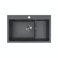 AER AER Granite Kitchen Sink - Bak Cuci Piring Granit KS2-05BL