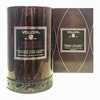 Voluspa Scented Candle Vermeil Collection (Chestnut & Vetiver)