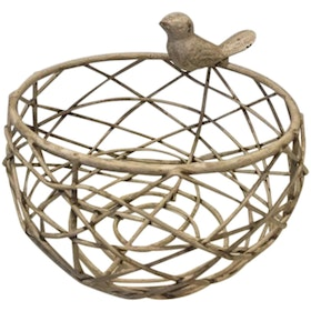 Athome Decor Lifestyle Basket Bird (S)