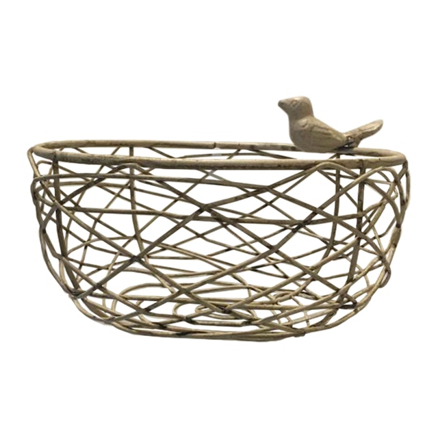 Athome Decor Lifestyle Basket Bird (M)
