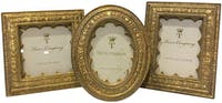 Two's Company Photo Frames Vermiel Ornate  (set of 3)