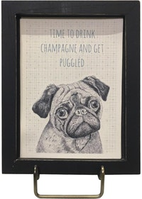 "Two's Company Friendship Framed Wall Art ""Time To Drink"""
