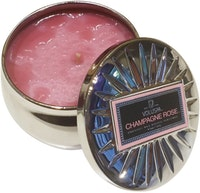 Voluspa Scented Candle Mini Tin (Champagne Rose)