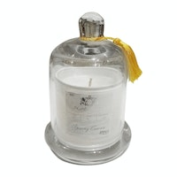 Apothecary Guild Zodax Scented Candle Jar with Glass Dome (Spring Crocus)