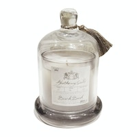 Apothecary Guild Zodax Scented Candle Jar with Glass Dome ( Birch Bark)