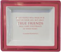 "TWO'S COMPANY Tray Quotes ""Many People"""