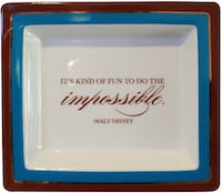 "TWO'S COMPANY Tray Quotes ""It's Kind Of Fun"""