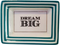 "TWO'S COMPANY Petite Wise Saying Trays ""Dream Big"""
