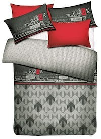 Ai by Akemi Set Sprei dan Bed Cover Lovesome Music Dream 160x200x30cm