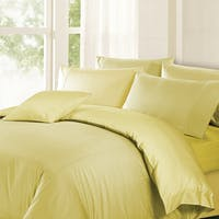 Akemi Set Sprei & Qulit Cover Set Autograph Leighton Lettie Stripes Creamy Yellow 200 x 200 cm