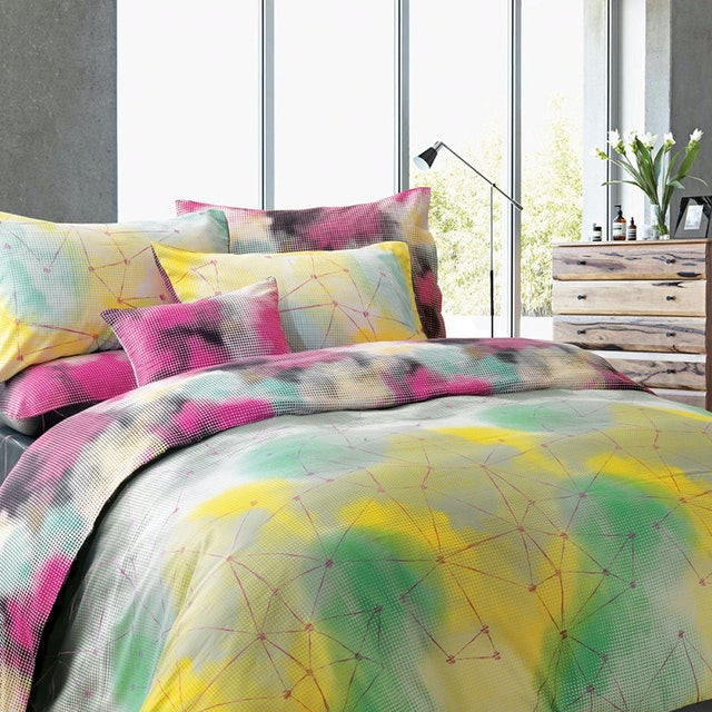 Madison & Co Lukaz Jolyon King Quilt Cover Set (180 x 200 cm)
