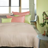 Madison & Co Set Sprei & Quilt Cover Cruz Grundy Quartz Pink Queen 160x200