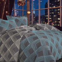 Madison & Co Wayne Hailee King Quilt Cover Set (180 x 200 cm)